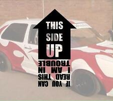 This side up Hater JDM Sticker Aufkleber PS Power fun like Shocker