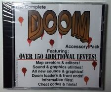Doom 1 original levels + map + editors + loaders PC new CD Sealed in case
