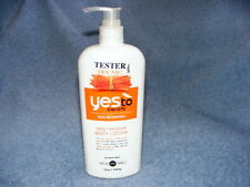 BUY 2 GET 1 FREE Yes to Carrots daily moisturizer lotion 12 oz pump 99% natural