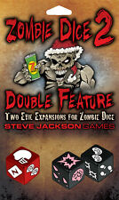 Zombie Dice 2, Double Feature, Two Evil Expansions for Zombie Dice, New, English