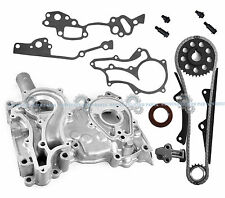 NEW 85-95 TOYOTA PICKUP 2.4L 22RE 22REC SOHC 8V TIMING CHAIN SET + COVER KIT