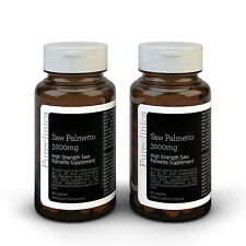 Saw Palmetto 3200mg - 6 months supply - Standardised to contain 95% fatty acids