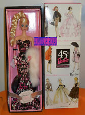 FASHION MODEL Collection SILKSTONE 45TH ANNIVERSARY BARBIE NRFB   by Mattel