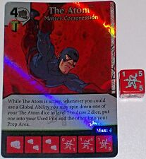 Foil THE ATOM: MATTER COMPRESSION 77 Green Arrow and The Flash Dice Masters