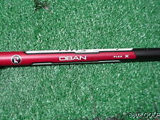 Nice TP Taylor Made M1 Sldr R15 R1 Oban Devotion 6 Graphite Driver Shaft X Flex