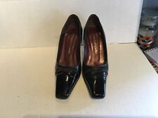 Moda In Pelle, Ladies Patient Leather Court Shoes Size 5, Beautiful Condition.