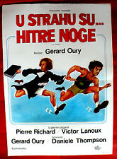 THE ESCAPE 1978 FRENCH PIERRE RICHARD VICTOR LANOUX G. OURY EXYU MOVIE POSTER