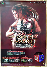 Heavenly Sword Raro PS3 51.5 cm X 73 Cartel Promo Japonés