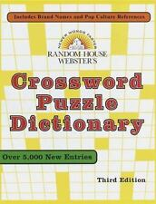 Random House Webster's Crossword Puzzle Dictionary: Third Edition
