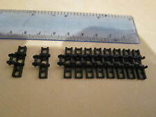 Lego Technic 10 x Caterpillar Tank Track Link Tread Wide BLACK