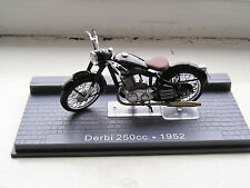 DERBI 250cc  1952 IXO MUSEUM  MODELS 1/24 SCALE IN GOOD CONDITION