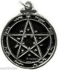 1 x SECOND PENTACLE OF VENUS AMULET Wicca Pagan Witch Occult Goth GRACE & HONOUR