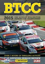 BTCC British Touring Car Championship - Official Review 2015 (2 DVD set) New