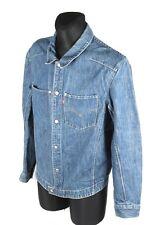 Levi's engineered hommes jeans veste taille l, authentique