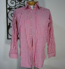 ETRO MILANO MADE IN ITALY 100% COTTON LONG SLEEVE CASUAL SHIRT SIZE 41, PINK