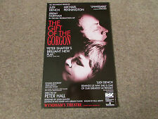 Judi DENCH & Michael PENNINGTON in GIFT of the Gorgon WYNDHAM's Theatre Poster
