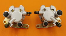 FRONT BRAKE CALIPER SET YAMAHA BANSHEE BIG BEAR BRUIN GRIZZLY RAPTOR 350 WARRIOR