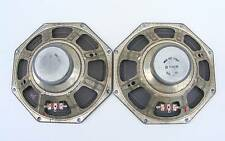 "PHILIPS AD7080/X4 VINTAGE 4 OHM 6"" MATCHED PAIR SPEAKERS VALVE TUBE RADIO AMP"