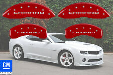 "2016-2017 Chevy ""Camaro"" SS Front + Rear Red MGP Brake Disc Caliper Covers 4pc"