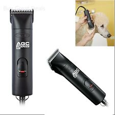 Andis ACG 2-Speed Pet Clipper, Detachable Blade Dog Grooming Clipper, Black New