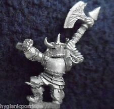 1985 caos Guerrero 0203 18 C35 el hierro Duque Citadel Warhammer army mal Fighter