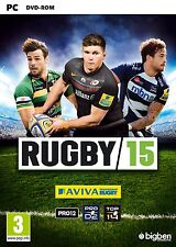 Rugby 15 (PC-DVD) BRAND NEW SEALED ENGLISH VERSION