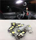 Full White 6 Lights SMD LED Interior Package Kit Mazda3 Mazda 3 2010-2011