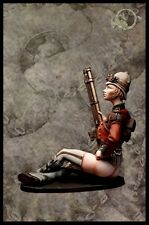 El Viejo Dragon Miniatures Steampunk Colonial Sniper Lady I