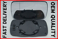 BMW 5 SERIES E39 1995-2004 WING MIRROR GLASS WIDE ANGLE HEATED LEFT