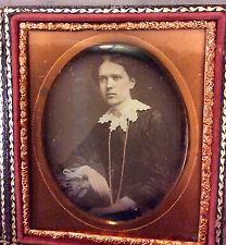 1/6 th Plate Daguerreotype Beautiful Lady