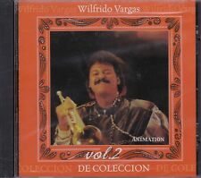 Wilfredo Vargas Vol 2 de Coleccion CD New Nuevo Sealed