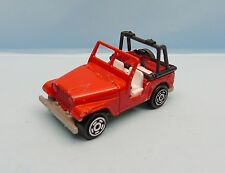 19421 MAJORETTE / FRANCE / 268 JEEP 4X4 CJ ROUGE 1/54