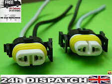 H11 H8 Ceramic Bulb Holder 2x Socket Connector  S53