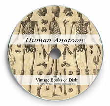 Rare Books on 2 DVD Human Anatomy Body Surgery Physiology Medical History Art 31
