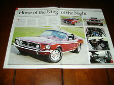 1968  MUSTANG GT 390   ***ORIGINAL ARTICLE***