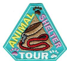 Girl Boy Cub ANIMAL SHELTER TOUR visit helper Patches Crests Badges SCOUT GUIDE