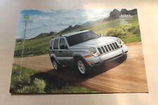 83385) Jeep Cherokee Preise & tech. Daten & Ausstattungen Prospekt 04/2007