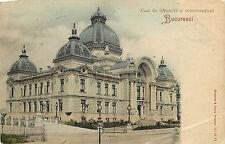 Postcard Casa De Depuneri Si Consemnatiuni Bucuresci Bucharest Romania Posted
