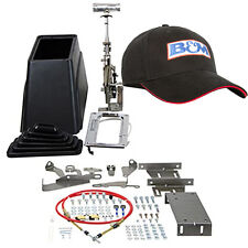 B&m 80680 Light Truck Megashifter Automatic Mega Shifter w Black Embroidered Hat