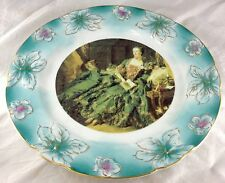 Madame de Pompadour French Court Lady Handpainted Nippon Porcelain Charger Plate
