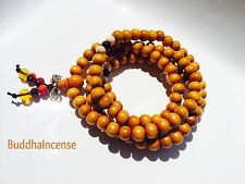 Prayer Beads Mala Bracelets Charm Buddhist Rosary 8mm tibetan