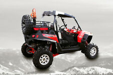 Polaris  RZR 800  Rear Lock and Ride Cargo Rack and Bed Extender