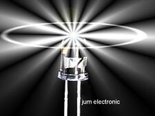 10 Stück Leuchtdioden  /  Led /  3mm /  WEIß 15000mcd / hoher Fertigungsstandard