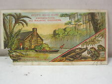 Vintage Ayer's Ague Cure Dr. J.C. Ayer & Co. Lowell, Massachusetts Trade Card