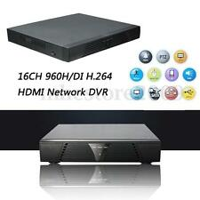 16CH 960H/D1 CCTV DVR HVR AVR Video Recorder H.264 HD Security Camera Standalone
