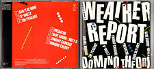 WEATHER REPORT domino theory CD 1984 FIRST PRESS with disc made in Japan