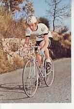 CYCLISME carte cycliste GEORGES TALBOURDET équipe PEUGEOT- ESSO signée