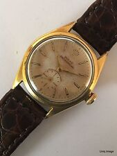 ROLEX OYSTER PERPETUAL SUPER PRECISION 5006 YELLOW GOLD BUBBLE BACK AUTOMATIC
