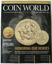 COIN WORLD Magazine June 2015 - Honoring Our Heroes - Bronze Congressional Gold