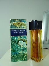 MONSIEUR WORTH - WORTH  PARIS Eau de Cologne 100ml splash VINTAGE, RARE